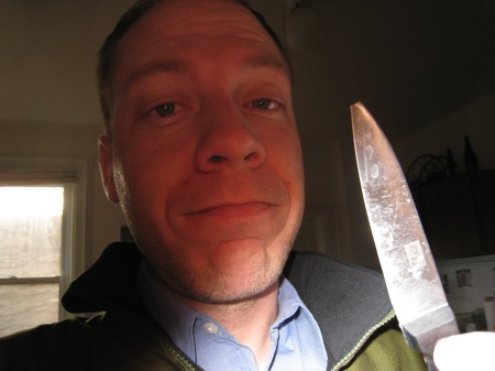 Me and the missing knife tip...