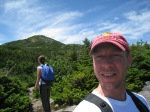 Nearing the Summit of Mt Marcy