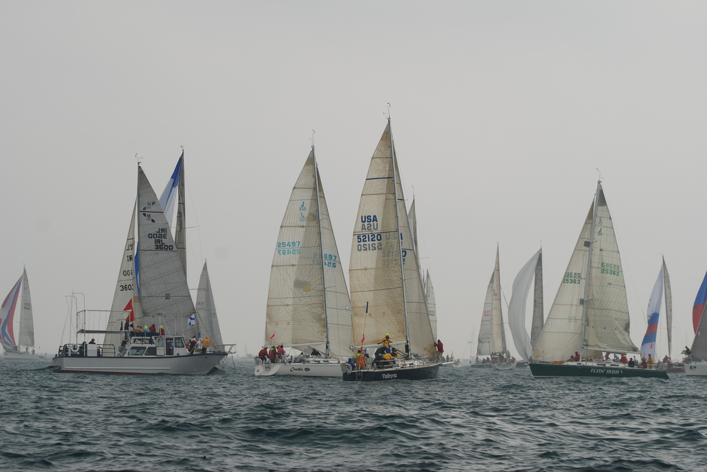 Chicago To Mackinac 100th Sailboat Race Completed On A