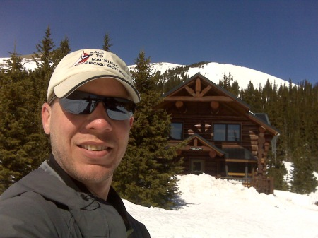 Francie's Hut in the backcountry outside Breckenridge, Colorado