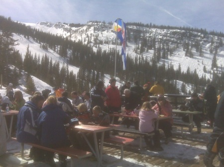 Snowmass Freestyle cliff jumping competition from Gwyn's