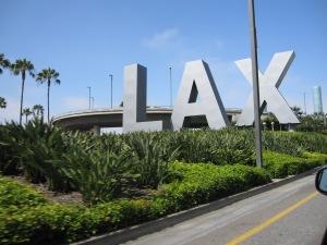 LAX at Los Angeles Airport