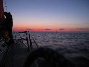 Dawn in the Manitous, Lake Michigan