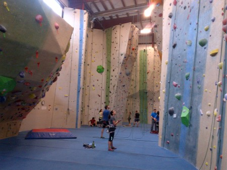 Giant Awesome Climbing gym